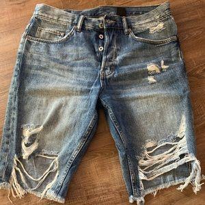 H&M Jean shorts 🔥